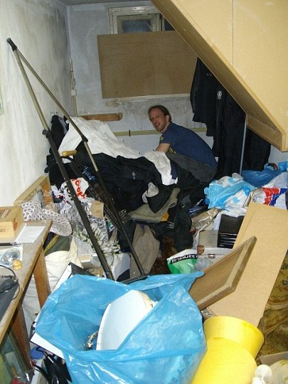 Dekor opbouw voor help for Zolder laten opruimen